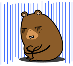 Hokkaido dialect (Bear series) sticker #1327163