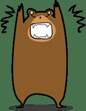 Hokkaido dialect (Bear series) sticker #1327164