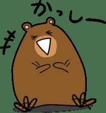 Hokkaido dialect (Bear series) sticker #1327166