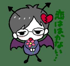 Devil and Angel sticker #1327591