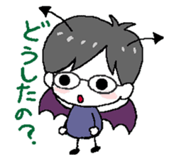 Devil and Angel sticker #1327593