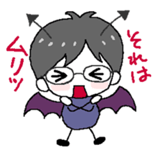 Devil and Angel sticker #1327595