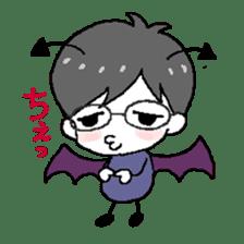 Devil and Angel sticker #1327596