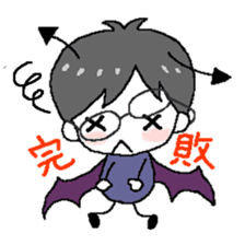 Devil and Angel sticker #1327597