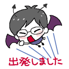 Devil and Angel sticker #1327600