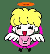 Devil and Angel sticker #1327602