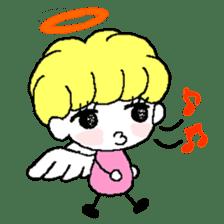 Devil and Angel sticker #1327615