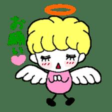 Devil and Angel sticker #1327616