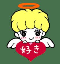 Devil and Angel sticker #1327624