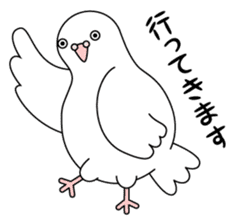 White dove sticker #1327945