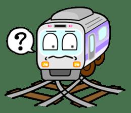 Mr. Commuter Train sticker #1328669