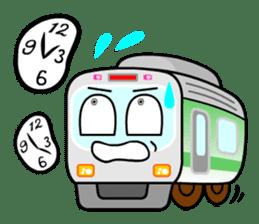 Mr. Commuter Train sticker #1328670