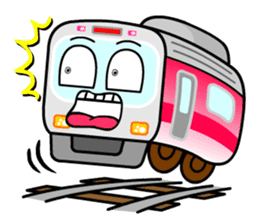 Mr. Commuter Train sticker #1328671