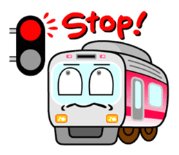 Mr. Commuter Train sticker #1328674