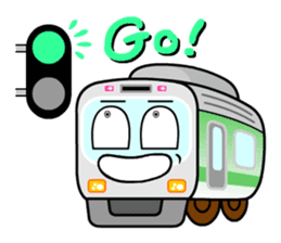 Mr. Commuter Train sticker #1328675