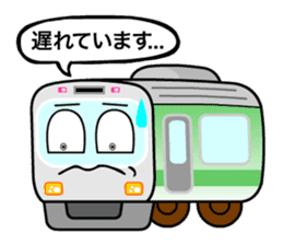Mr. Commuter Train sticker #1328678