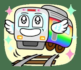Mr. Commuter Train sticker #1328681