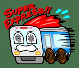 Mr. Commuter Train sticker #1328684