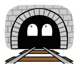 Mr. Commuter Train sticker #1328686