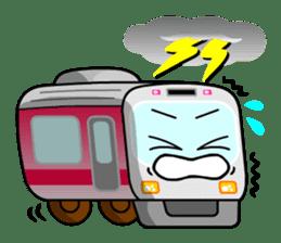 Mr. Commuter Train sticker #1328688