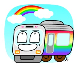 Mr. Commuter Train sticker #1328689