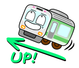 Mr. Commuter Train sticker #1328690