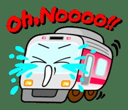 Mr. Commuter Train sticker #1328693