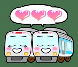 Mr. Commuter Train sticker #1328701