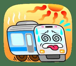 Mr. Commuter Train sticker #1328702