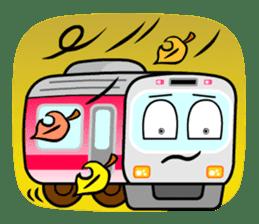 Mr. Commuter Train sticker #1328703