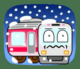 Mr. Commuter Train sticker #1328704