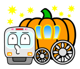 Mr. Commuter Train sticker #1328705