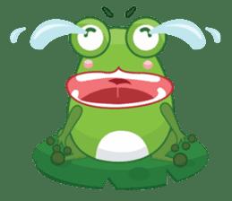 Froggie sticker #1329191