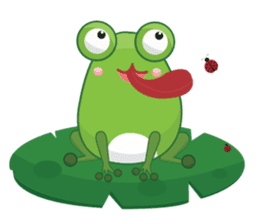 Froggie sticker #1329208