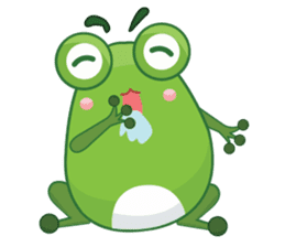 Froggie sticker #1329209