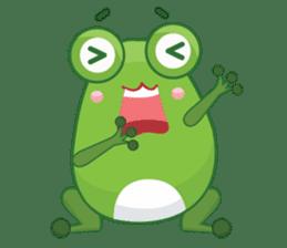 Froggie sticker #1329210