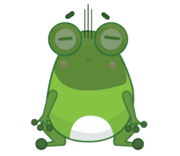 Froggie sticker #1329220