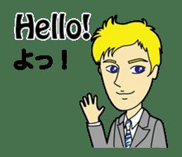 English & Japanese conversation sticker sticker #1329226