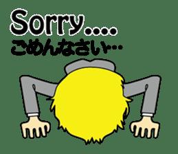 English & Japanese conversation sticker sticker #1329228
