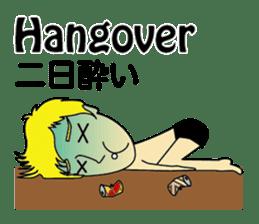 English & Japanese conversation sticker sticker #1329236
