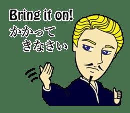 English & Japanese conversation sticker sticker #1329252