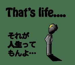 English & Japanese conversation sticker sticker #1329255