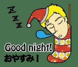 English & Japanese conversation sticker sticker #1329258