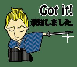 English & Japanese conversation sticker sticker #1329259