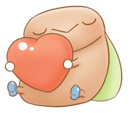Semichan and Semikun. sticker #1330151