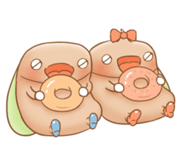 Semichan and Semikun. sticker #1330182