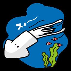 Nice!Squid Stickers