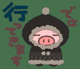 Butata in Winter sticker #1333108