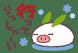 Butata in Winter sticker #1333109