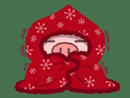 Butata in Winter sticker #1333111